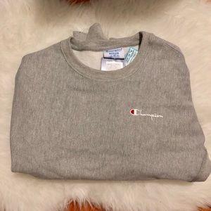 Grey Champion Crew Sweatshirt